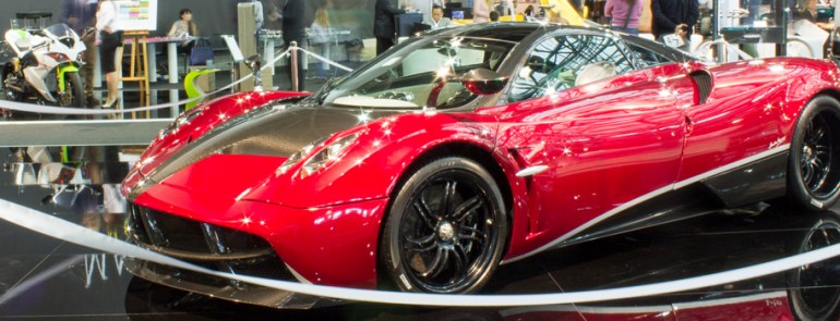 TRANSFORMERS 4 PAGANI HUAYRA - TOP MARQUES 2014 HQ | effeNovanta