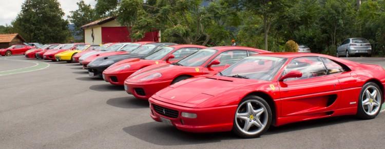 Ferrari convoy