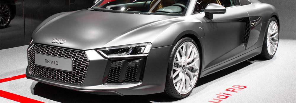 NEW AUDI R8 V10 – GENEVA MOTOR SHOW 2015 HQ